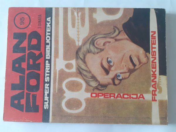 #Alan Ford 3/Super 95:Operacija Frankenstein od 1 kune!